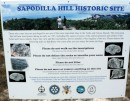 Sapodilla Hill Historical Site information.  Those who come here are privileged to see one of the most important sites in the Turks and Caicos Islands.  The rocks atop this hill bear inscriptions dating as early as 1767, including the names of some of the earliest pioneers and settlers of the Turks and Caicos Islands.  Enjoy the view and the inscriptions but be mindful of the fragility of the site.  Please observe the rules so that those who come after you can enjoy the same privilege.
