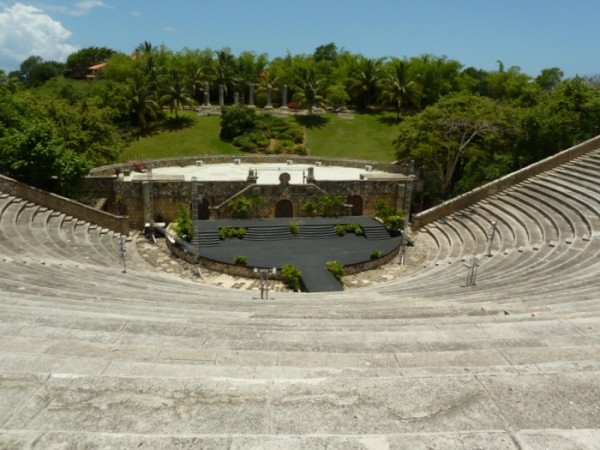 Roman style amphitheater opened in 1982 at Altos de Chavon