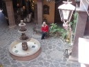Linda at cool hotel in Loreto
