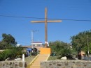 The cross in La Cruz, which of course means--The cross.