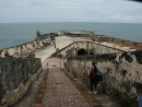 The battery of El Morro fortress in San Juan Puerto Rico