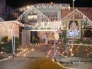 Decorations to a Hindu home during the festival of lights in Trini