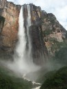Angel Falls, 3000+ ft of free falling water. Highest in the world.