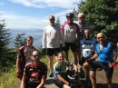 Bikers who went from Seattle up to Canada.
