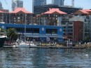 Fish market in Sydney, leave your dinghy there for the day