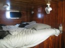 A spacious berth for two.