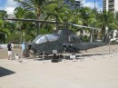 Army museum in Waikiki.:  They even had miniature remote control helicopters to watch.