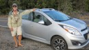 Our spunky Chevy Spark. It wasn