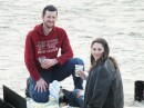 The most important news:  Son Nathan proposed to Maddy in March down in Cannon Beach, OR and we