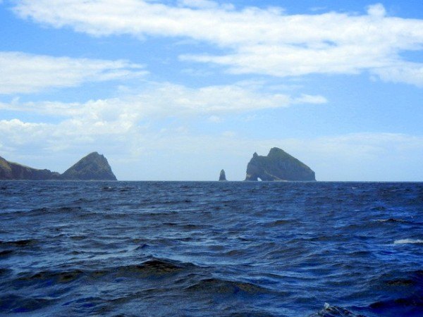 "Cape Brett ""in our rear view mirror"""