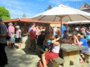 The Matakana Saturday Market is a bustling place