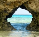 "There are several of these ""windows to the reef"" in the islands that fringe the Fulanga lagoon."