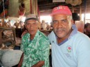 "More ""posers"" in the Labasa market; these guys look serious - better by something from them!"