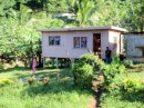 A home in one of the smaller villages we passed on the way to Labasa.