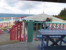 Nippers main deck with the Atlantic in the background