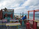 The Atlantic from Nippers on Great Guana Cay