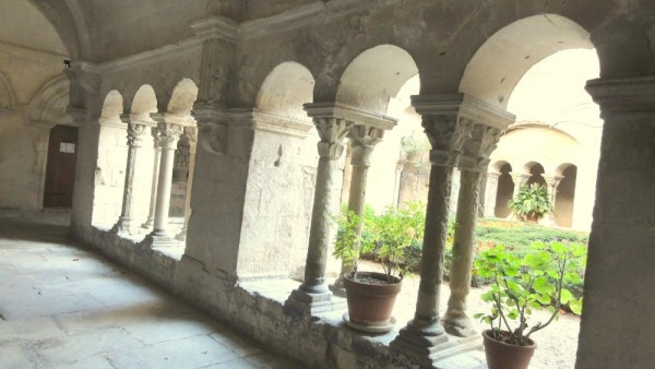 11th century cloisters in the hospital where Van Gogh stayed.