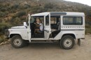 Wolfgang drove this Landrover in 2008 from here to Germany, 25.000 km through Africa and then shipped it back.