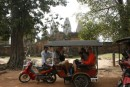 our Tuk Tuk on day 2 at Angkor Wat temples
