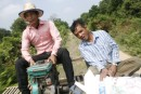 Bamboo train Battambang - not for much longer as the rail line is going to be used again for real trains from 2013 on