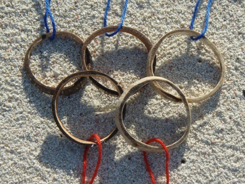 Chagos Children Olympic Games Medals