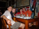 Peters Pub in Horta with Lynn and Lon,