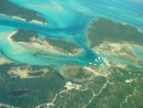 Compass Cay from the air  Exumas