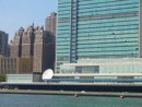 UN Bldg with patrol boats