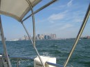 Bye NY......just the most amazing thing to do.....sail through Manhattan.