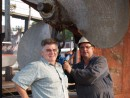 Tim Clahane & Danny Himmelman from the Lunenburg Foundry..........great guys!