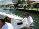 Robert in Fort lauderdale - Iolite sea trials 2006