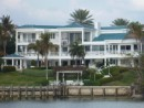 large house on St. Lucie River