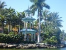 Gazebo/belltower along the New River, Ft. Lauderdale