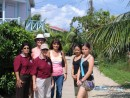 """The Girls"" ready for exploring in Placencia, Belize"
