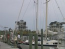 Marina and condos in Hatteras