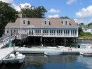 Boothbay Harbor Yacht Club. A very friendly club