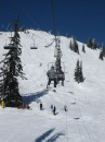 ancient chair lift, Silver Star Mountain