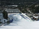 Olympic Downhill finish area, Whistler