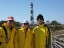 Al, Arlene & Jim, Cape Lookout, N.C.