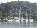 The marina, Port Antonio