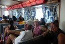 On the high speed ferry back to Isla Mujeres from Cancun