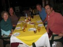 Dining on Mexican food (what else??) in Puerto Aventura