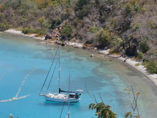 Benures Bay, Norman Island