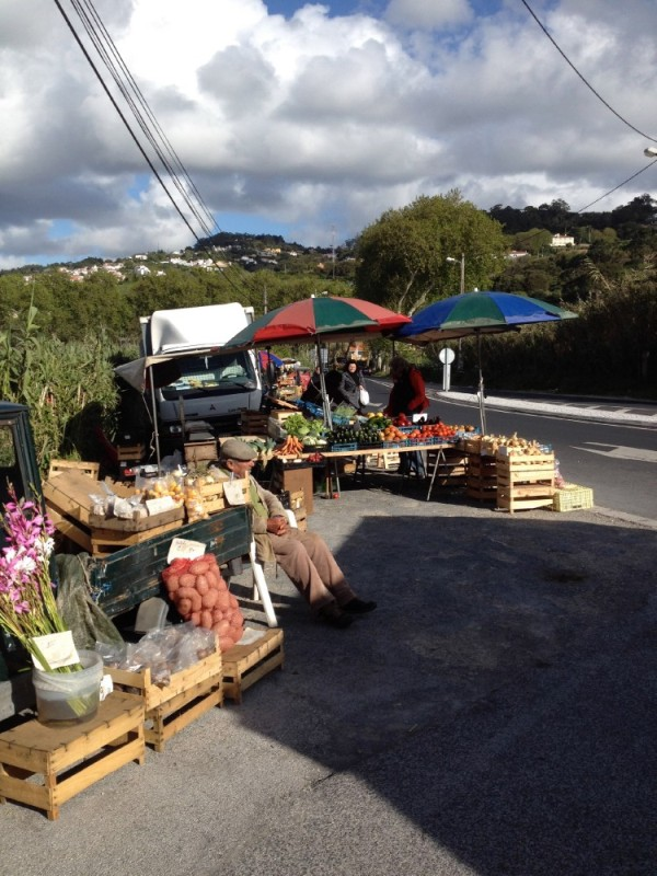 Best find of the day - a local fruit and veg market