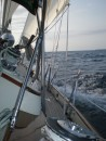Sailing from Presque Isle to Thunder Bay -Maire would be screaming....