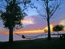 Perfect place to take in a few sunsets - HYC point at the mouth of the Pigeon River looking into Saginaw Bay