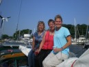 Judy, Katie, and Sheila in South Haven