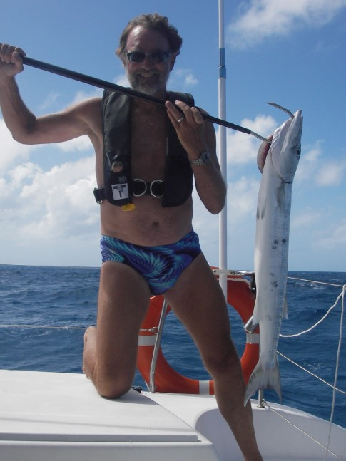 Jerry with Great Barracuda