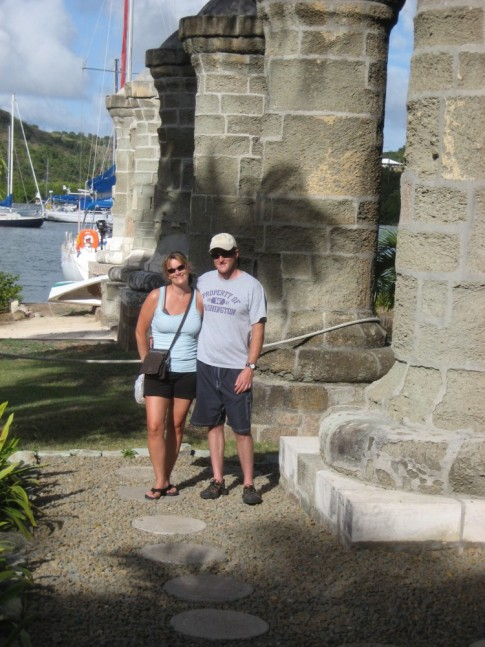 Kurt & Barb @ English Harbour