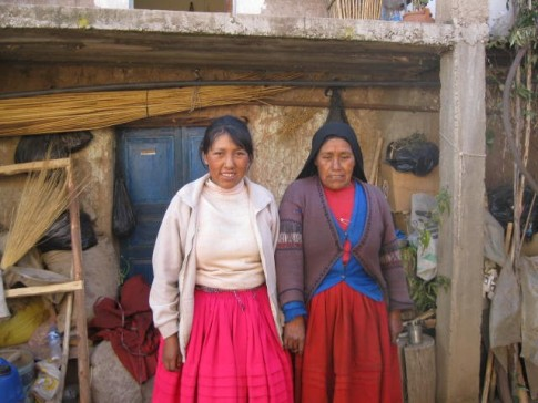 "This was the last photo I took on the island but it really says a lot about the whole experience.  The woman on the left is Marylou who was our ""Mama"" for our stay in her home.  I think the lady on the right is her mother but can"